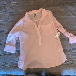Stripped dress shirt